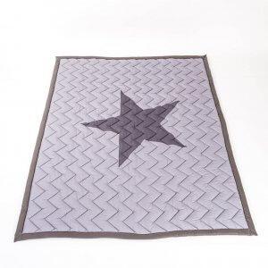 שטיח כוכב אפור