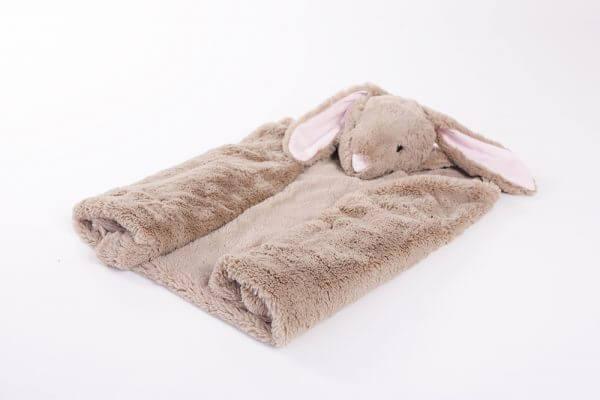 שמיכת קשמיר עם ארנבת