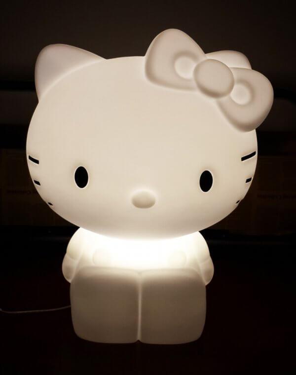 kitty light site - מנורה לחדר ילדים