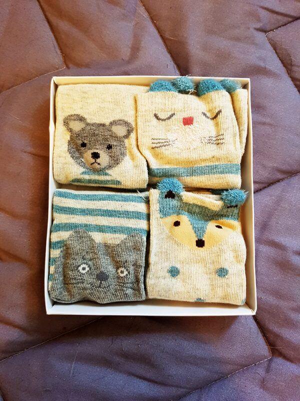 גרביים דובי כחול